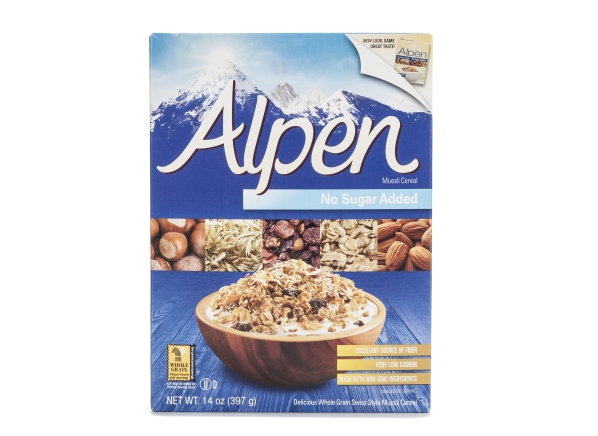 Alpen Muesli No Sugar Added cereal