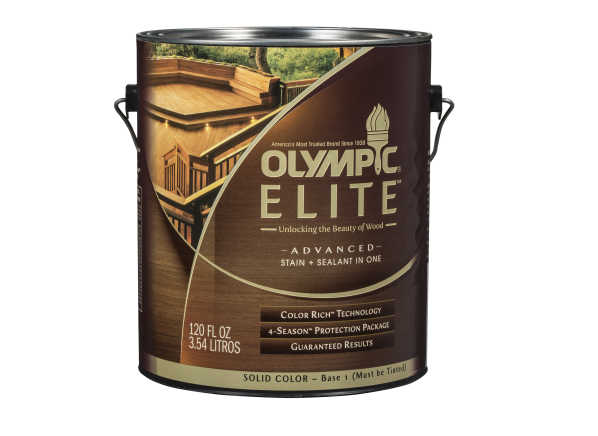 Olympic Elite Advanced Stain + Sealant in One Solid