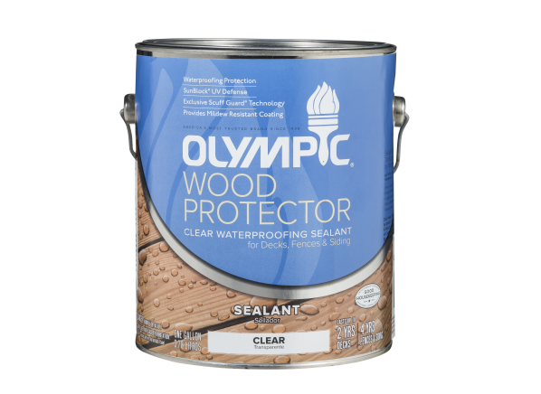 Olympic Wood Protector Waterproofing Sealant Summary Information