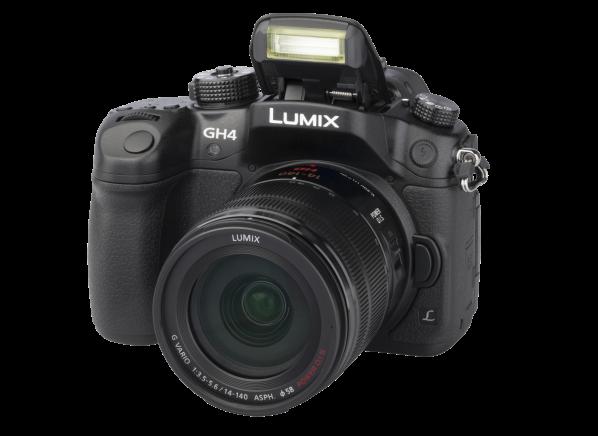Panasonic Lumix DMC-GH4 w/ 14-140mm f/3.5-5.6 ASPH. Power O.I.S. camera