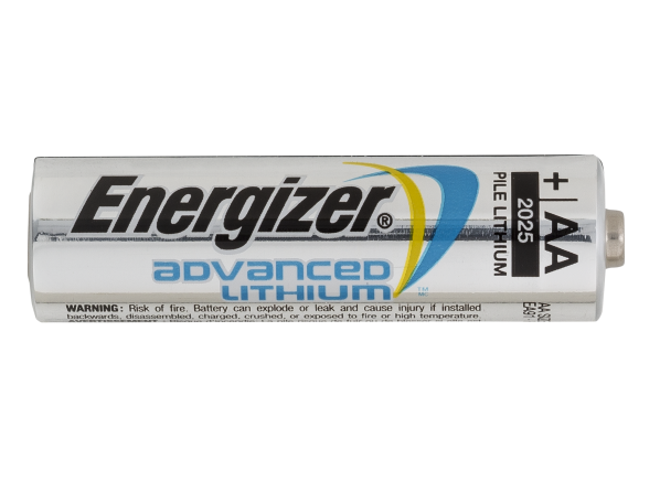 Energizer Advanced Lithium AA battery