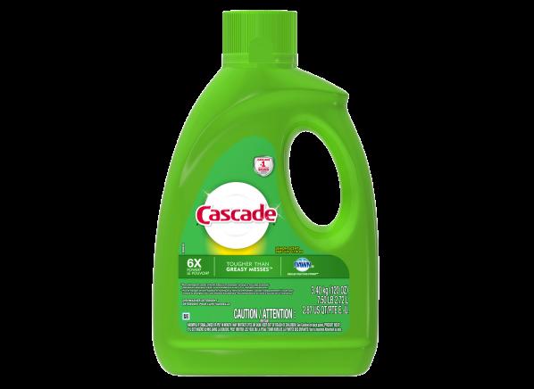 Cascade Gel with Dawn dishwasher detergent