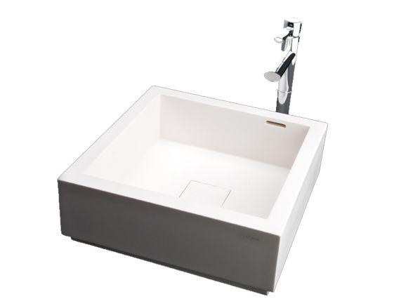 Solid surfacing sink