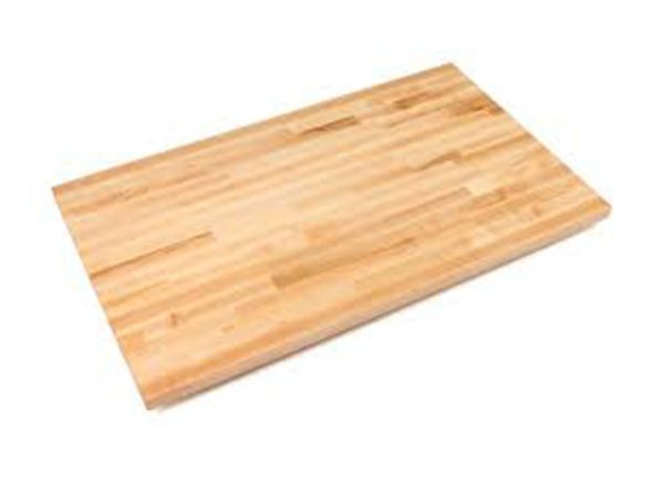 Butcher Block Varnished Countertop