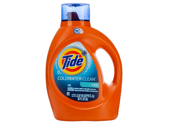 Tide Plus Coldwater Clean HE laundry detergent