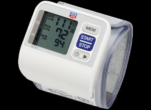 Rite Aid RC211 blood pressure monitor