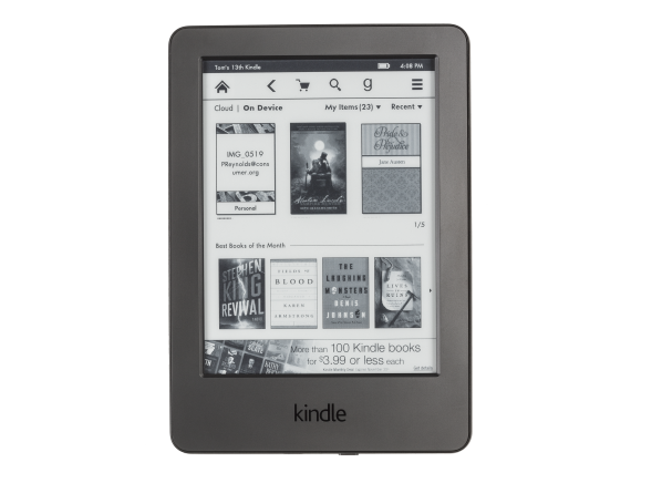 Amazon Kindle w/ Special Offers (Touchscreen) e-book reader