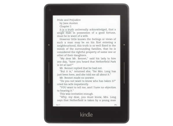 Amazon Kindle Voyage w/ Special Offers (WiFi & 3G) e-book reader