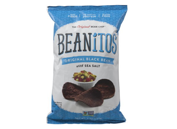 Beanitos Original Black Bean with Sea Salt Chips healthy snack
