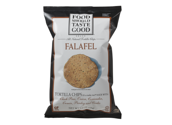 Food Should Taste Good Falafel Tortilla Chips healthy snack