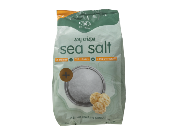GeniSoy Soy Crisps Sea Salt healthy snack
