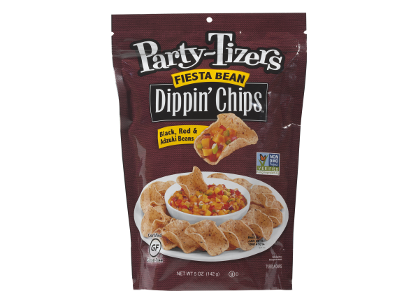 Party-Tizers Fiesta Bean Dippin Chips healthy snack