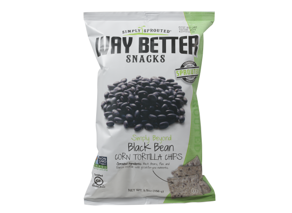 Way Better Snacks Black Bean Corn Tortilla Chips healthy snack