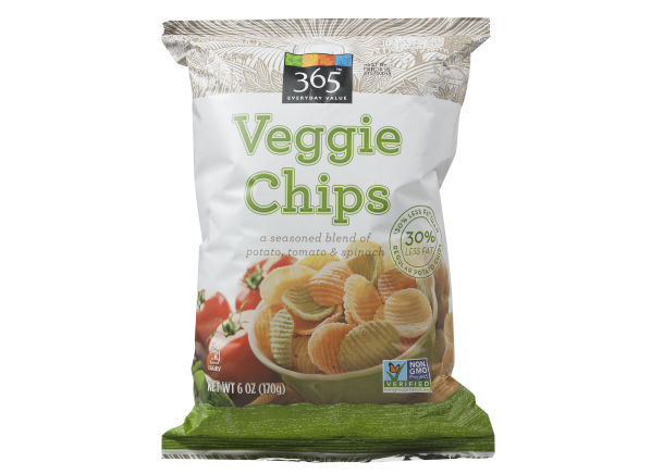 365 Everyday Value Veggie Chips (Whole Foods) healthy snack