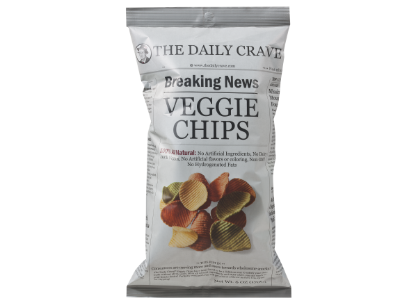 The Daily Crave Veggie Chips healthy snack