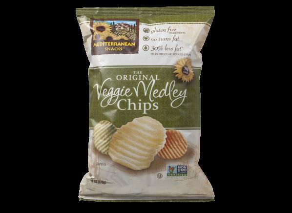 Mediterranean Snacks Veggie Medley Chips healthy snack