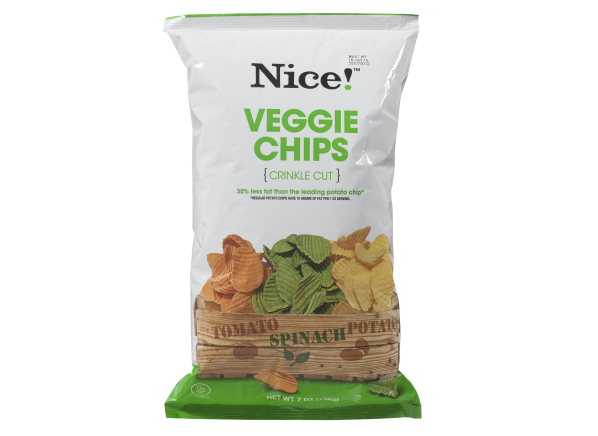 Nice! (Walgreens) Veggie Chips healthy snack