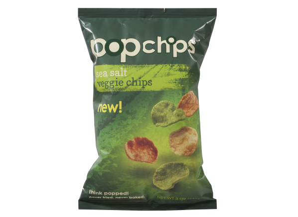 Popchips Veggie Chips Sea Salt healthy snack