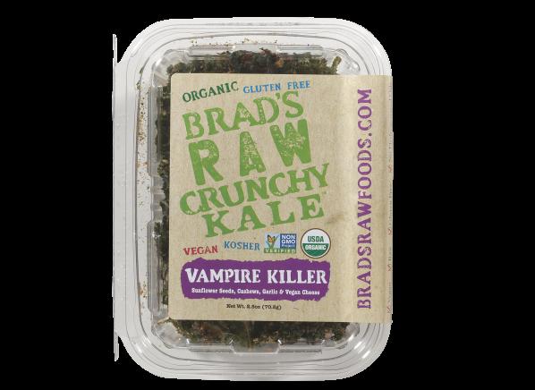 Brad's Raw Crunchy Kale Vampire Killer healthy snack