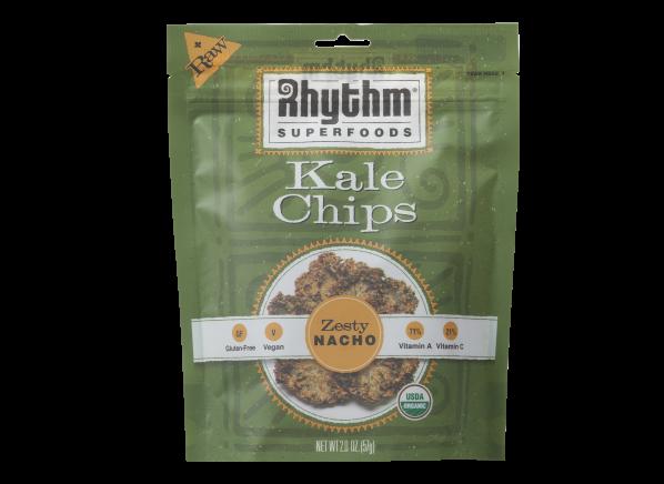 Rhythm Superfoods Kale Chips Zesty Nacho healthy snack
