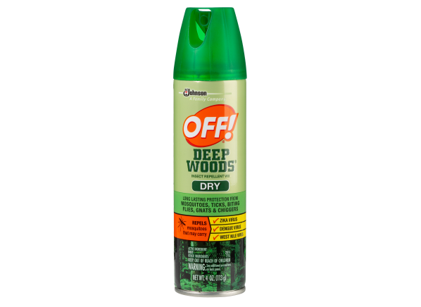 Off Deep Woods Insect Repellent Vlll Dry