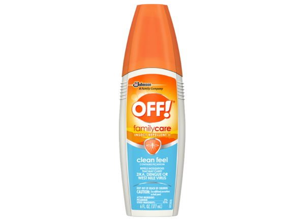 Off Familycare Insect Repellent Ii Clean Feel Consumer