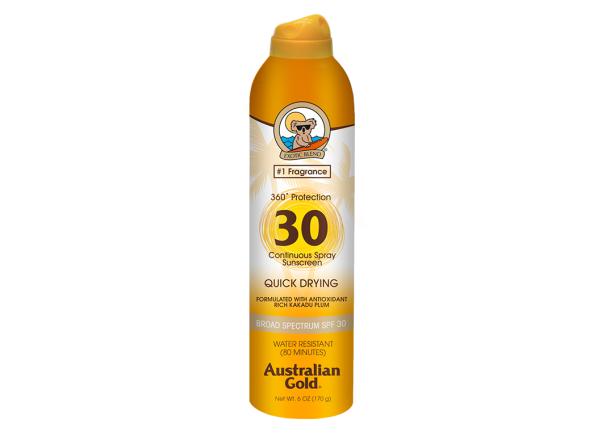 Australian Gold Continuous Clear Spray SPF 30 sunscreen