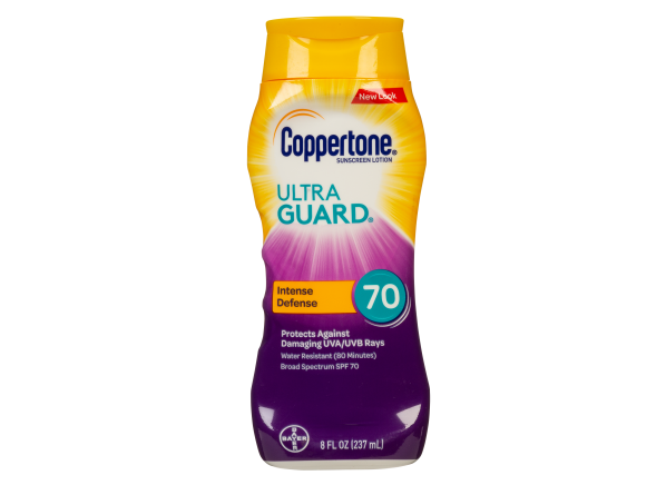 Coppertone Ultra Guard Lotion SPF 70 sunscreen