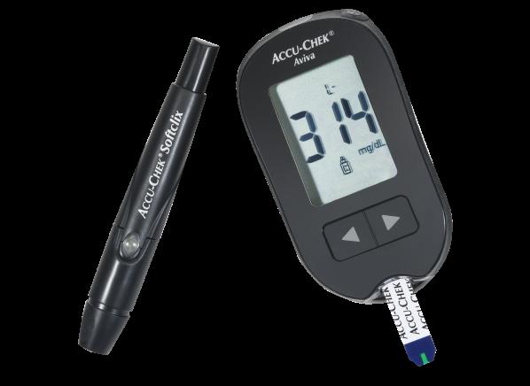 Accu-Chek Aviva Plus blood glucose meter