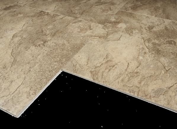 Congoleum Duraceramic Sierra Slate Si74 Golden Greige Flooring
