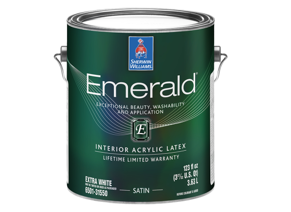 Sherwin-Williams Emerald paint