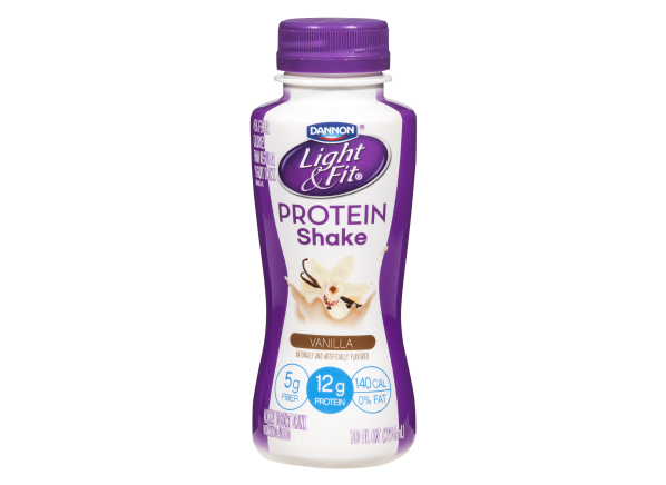 Dannon Light & Fit Protein Shake Vanilla healthy snack