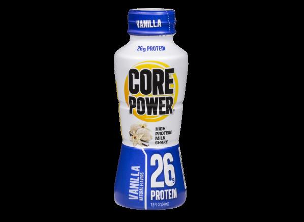 Core Power High Protein Milk Shake Vanilla healthy snack