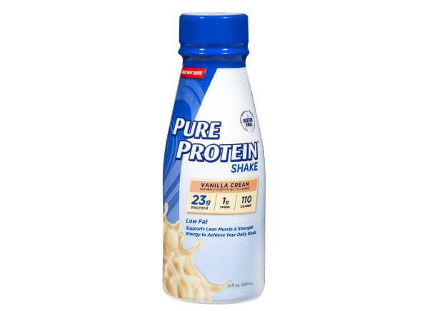 Pure Protein Vanilla Cream Shake healthy snack