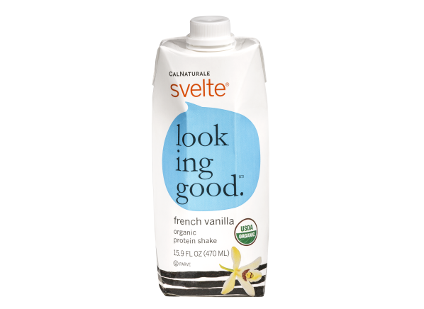 CalNaturale Svelte French Vanilla Organic Protein Shake healthy snack