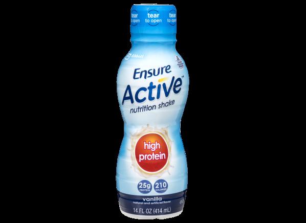 Ensure Active High Protein Vanilla Nutrition Shake healthy snack