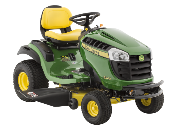 John Deere S240-42 Sport riding lawn mower & tractor - Consumer Reports