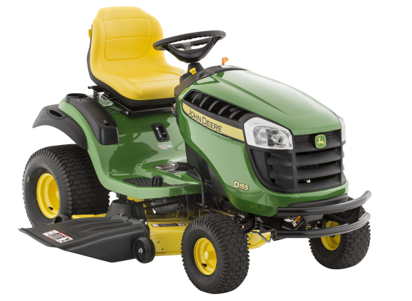 John Deere D155-48 riding lawn mower & tractor