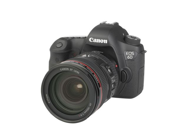 Canon EOS 6D w/ EF 24-105mm f/4L IS USM camera