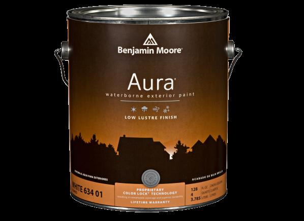 Benjamin Moore Aura Exterior paint