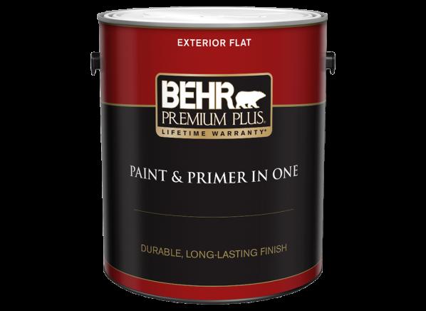 Behr Premium Plus Exterior (Home Depot) paint