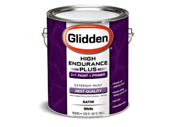 Glidden High Endurance Plus Exterior (Walmart) paint
