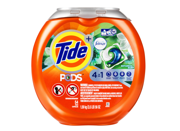 Tide Pods Plus Febreze 4 in 1 laundry detergent
