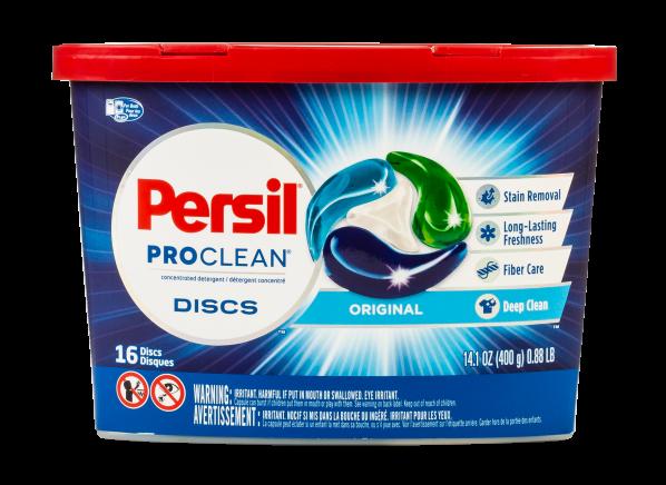 Persil ProClean Discs Original laundry detergent