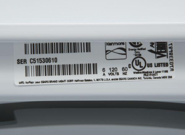 Kenmore 22332 Washing Machine Consumer Reports