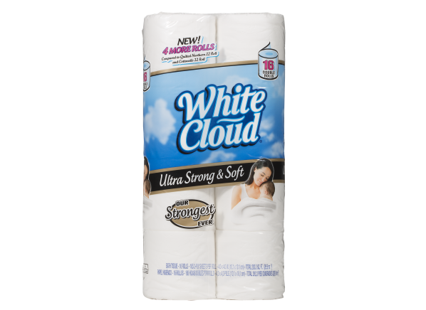 White Cloud Ultra Strong & Soft (Walmart) toilet paper