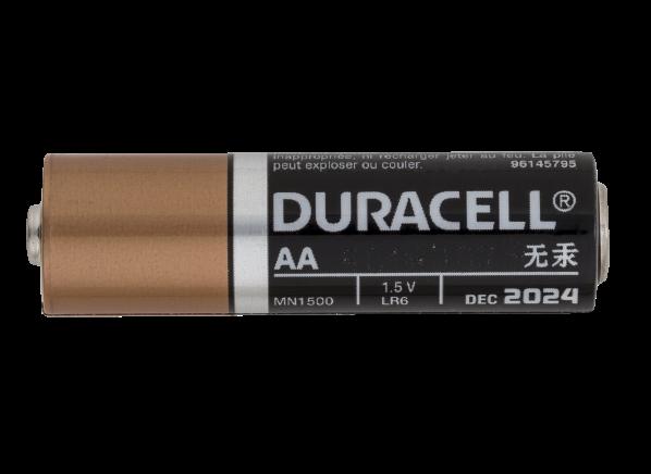 Duracell Coppertop Duralock AA Alkaline battery