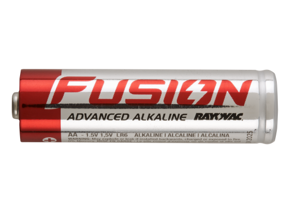 Rayovac Fusion Advanced AA Alkaline battery - Consumer Reports