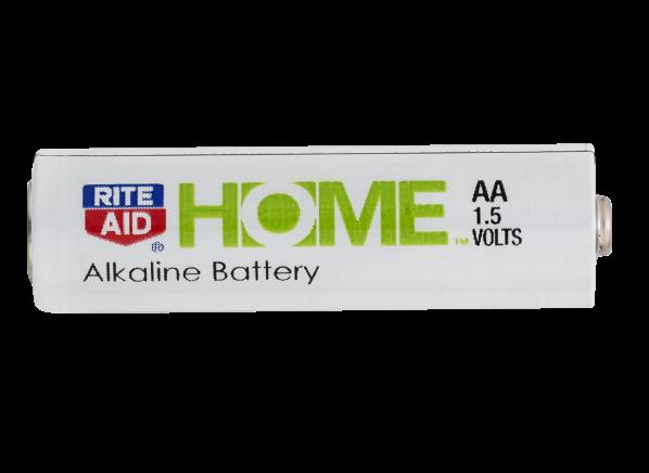 Rite Aid Home AA Alkaline battery