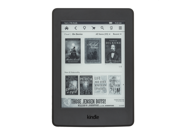 Amazon Kindle Paperwhite w/ Special Offers (WiFi) (3rd Gen) e-book reader